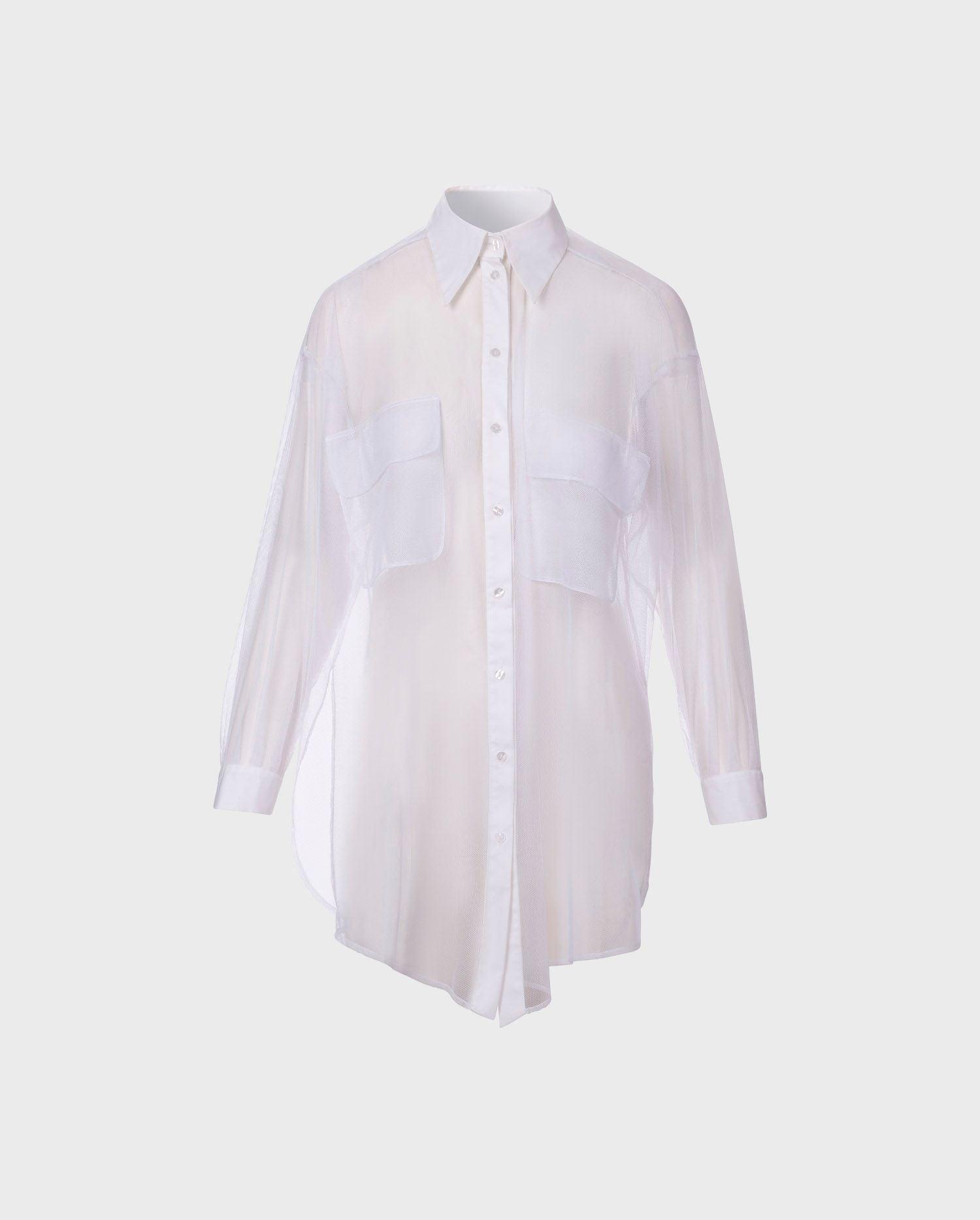 Anne Fontaine Brasilia - White Shirt