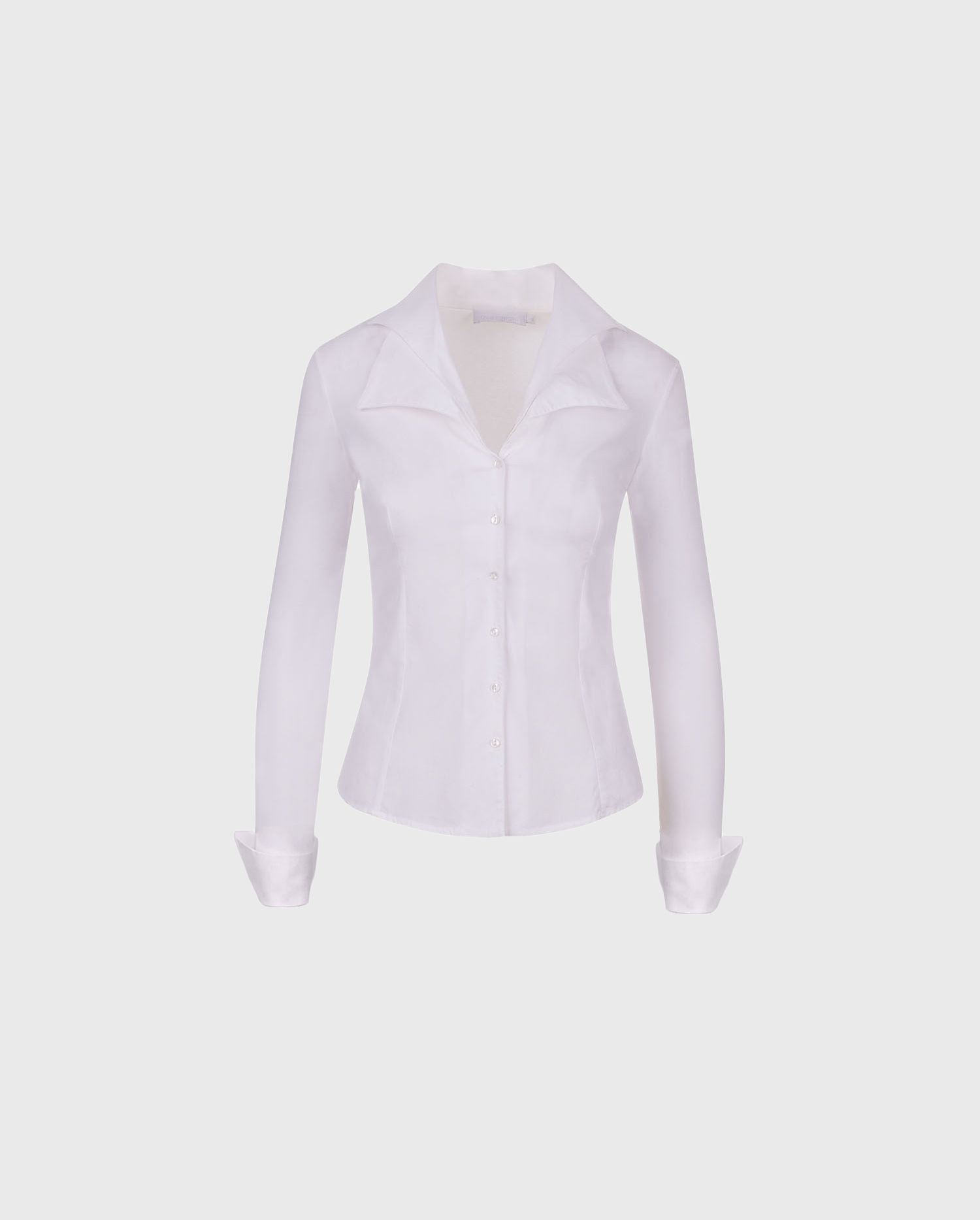 Add the crisp white CHRISTIE shirt to your Fall wardrobe for a simple - yet chic upgrade to your wardrobe.