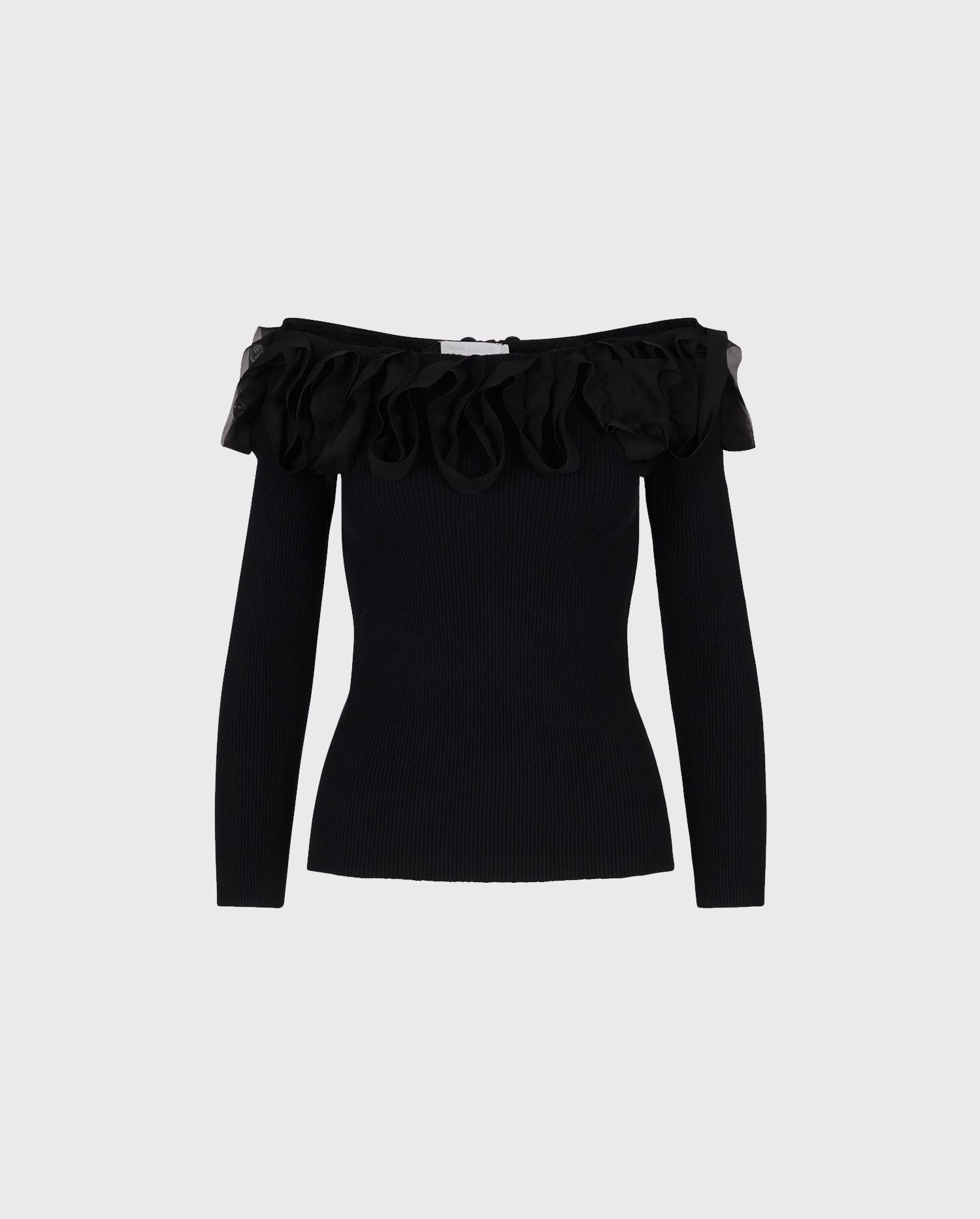 The FEDA knit top is the perfect style to take you through the season in looks of luxury