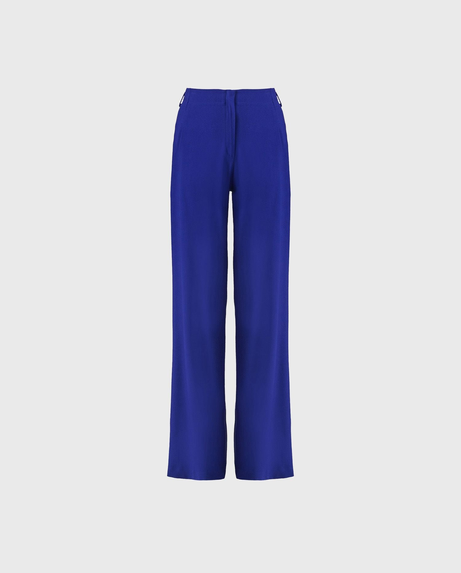 Add the LAUSANE ultra blue wide leg pants to your wardrobe for a vibrant pop of color