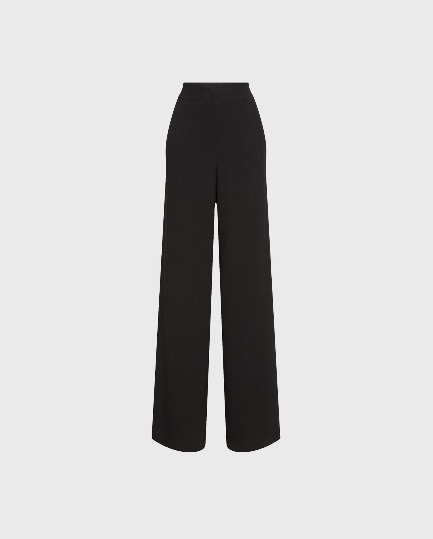 Add the MORGAN black palazzo pants to your wardrobe for an easy chic silhouette