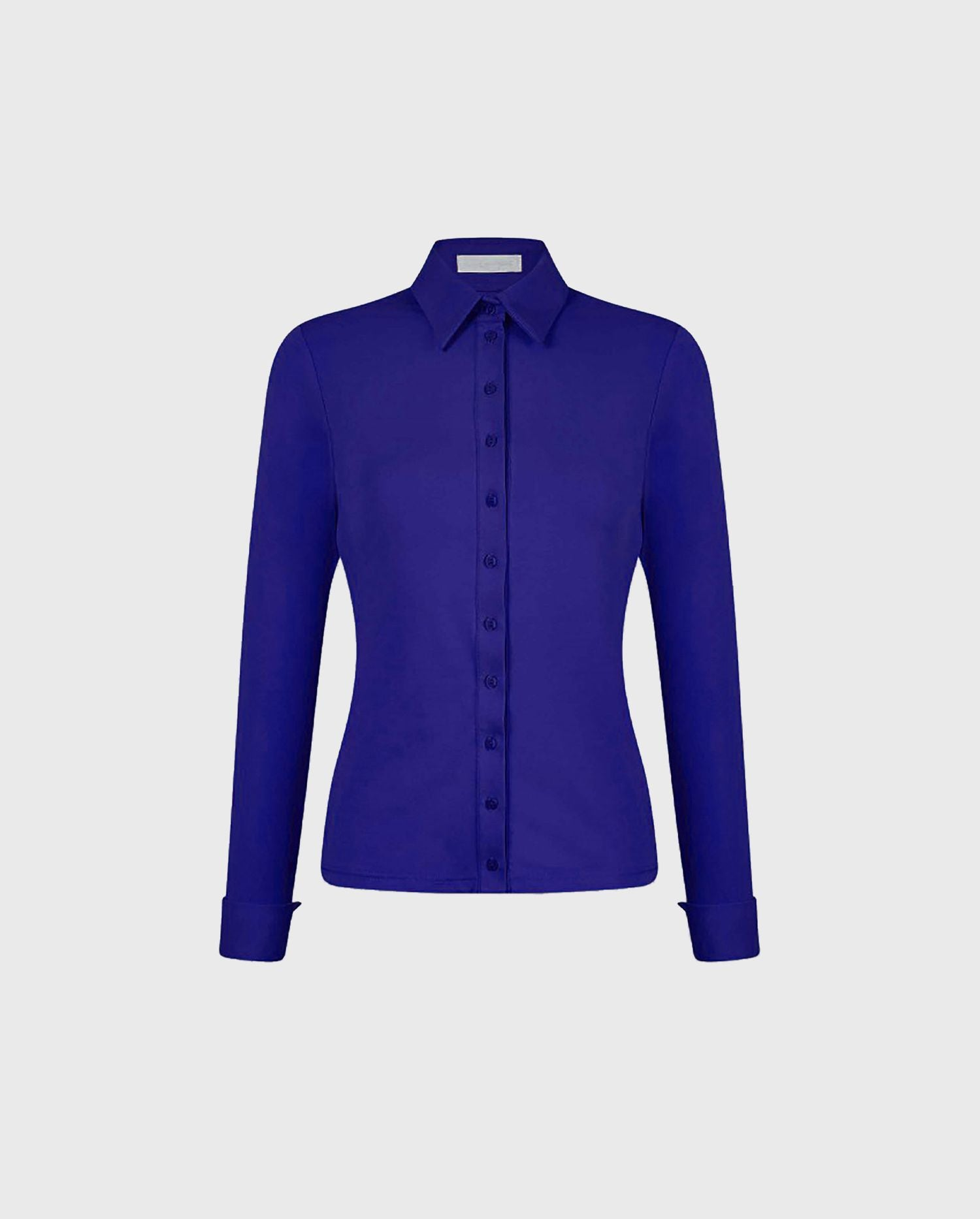 Add the ultra comfortable and vibrant Nuage shirt to your wardrobe for a vibrant pop of color.