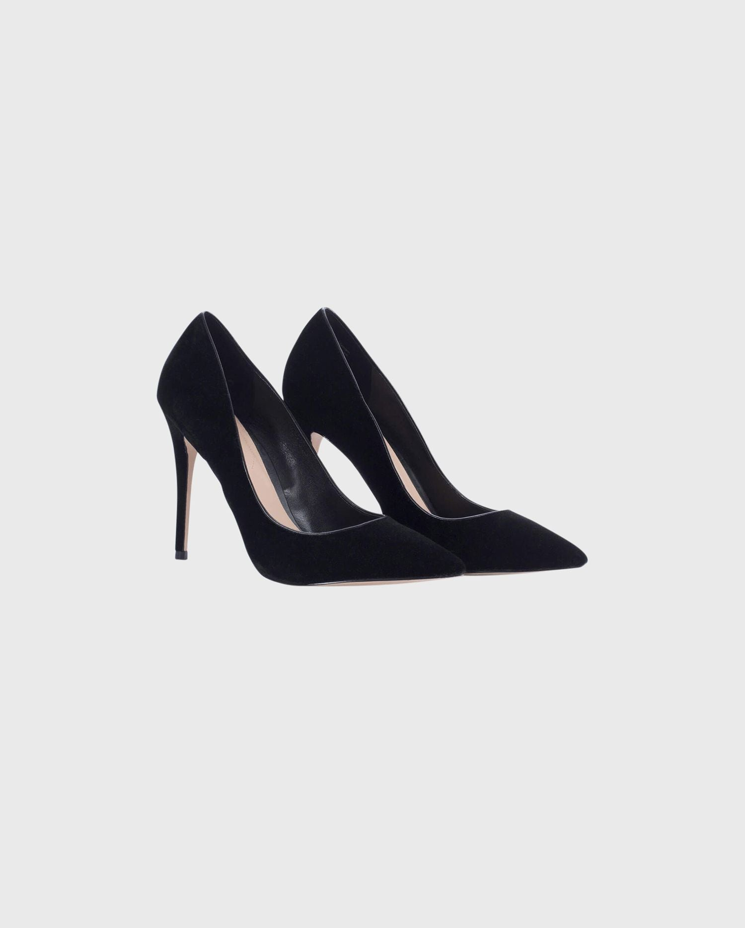 ORLANDO:  Black High Heels Pump With Pointed Toe | ANNE FONTAINE