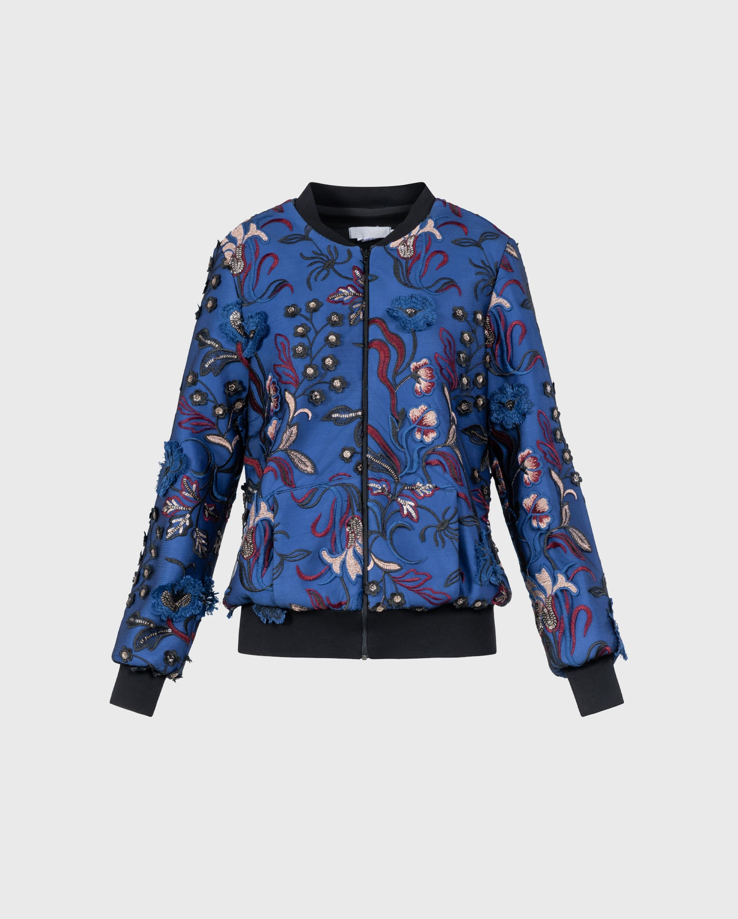 The RENALDINE bomber blue jacket will add take your casual look to the next level