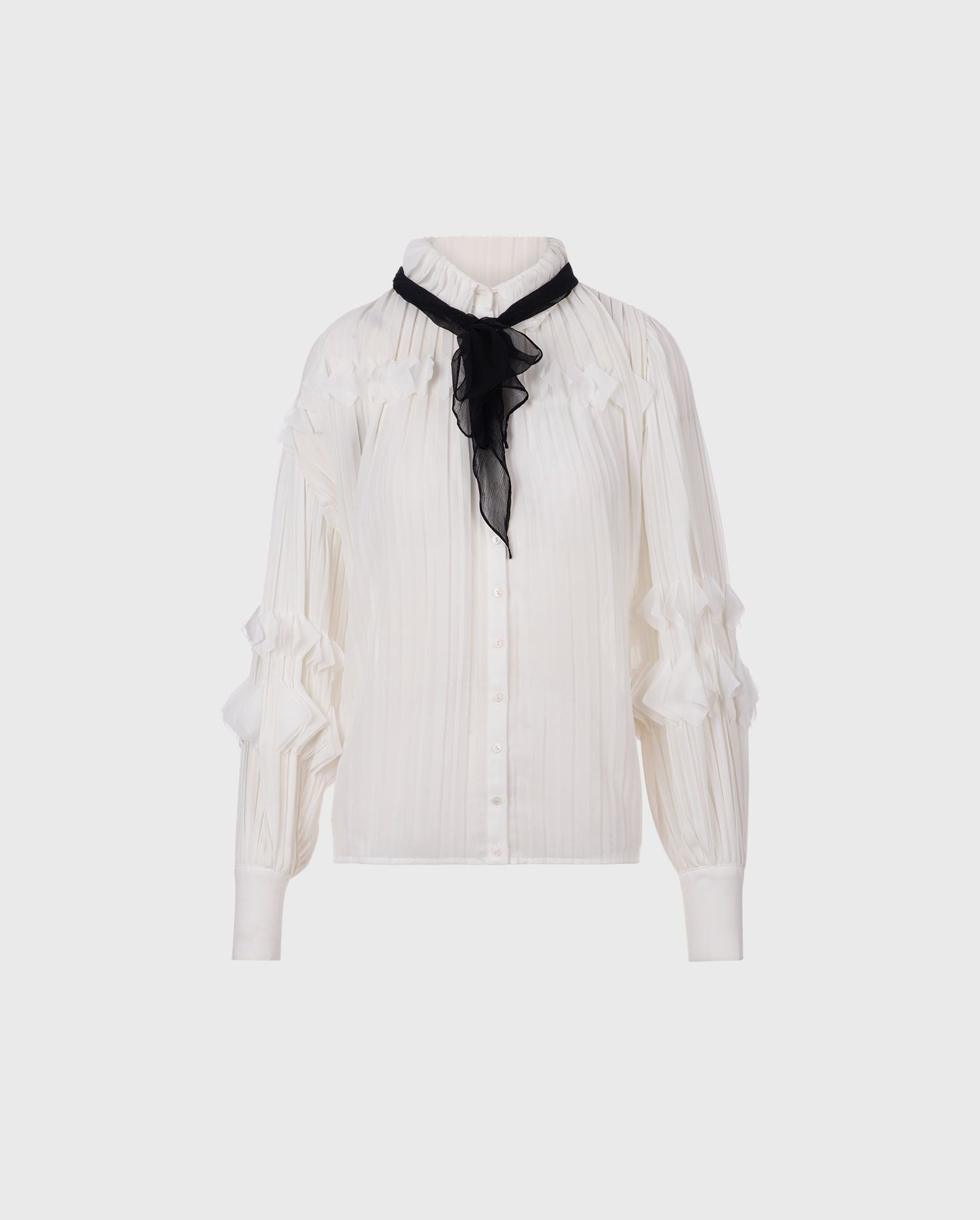 Add the Samantha-H18 blouse to your style for a look of effortless chic