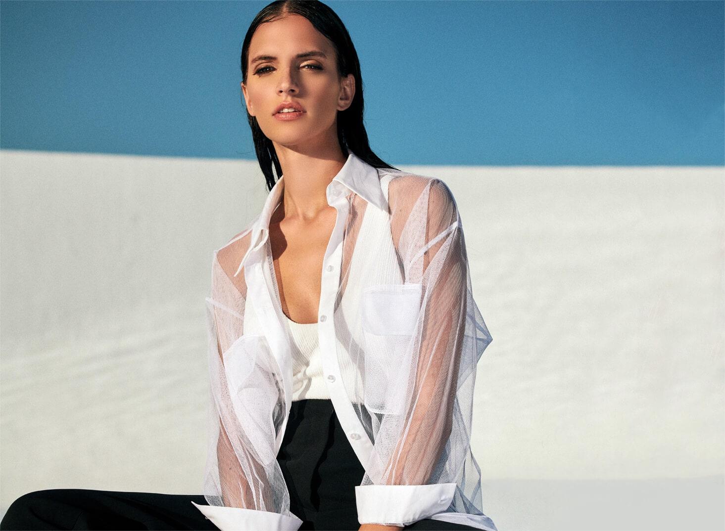 Designer Anne Fontaine's Black & White Edit